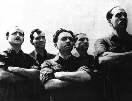 Operai torinesi durante lo sciopero del marzo '43.