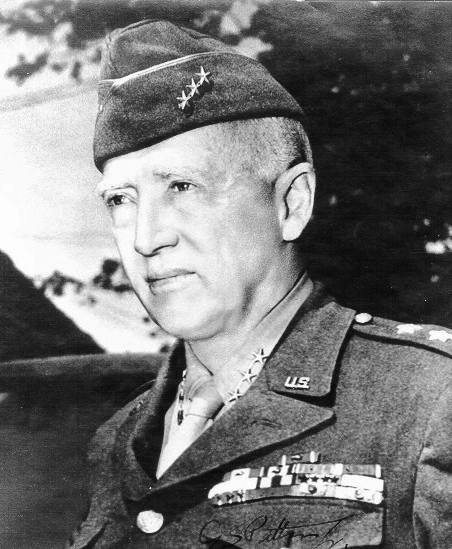 Il generale americano George Patton.