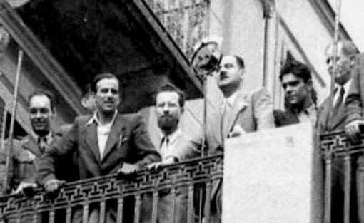 Comizio di Duccio Galimberti a Torino del 26/7/43