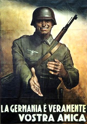 Manifesto di propaganda della RSI