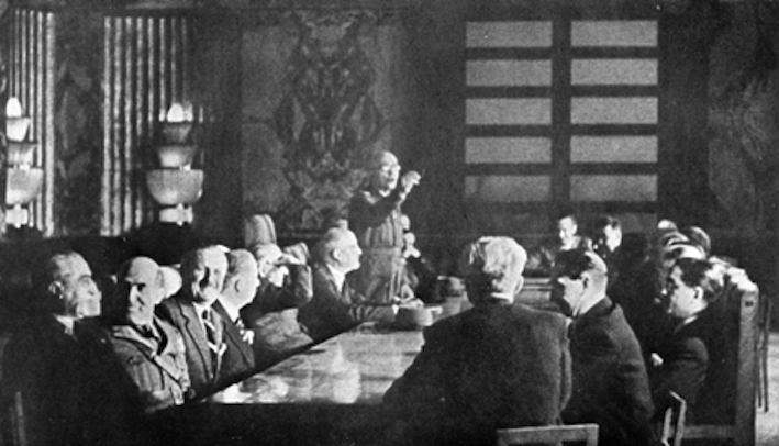 Consiglio dei ministri del Governo Badoglio a Salerno.