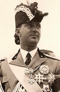 Umberto di Savoia, luogotenente generale del Regno.