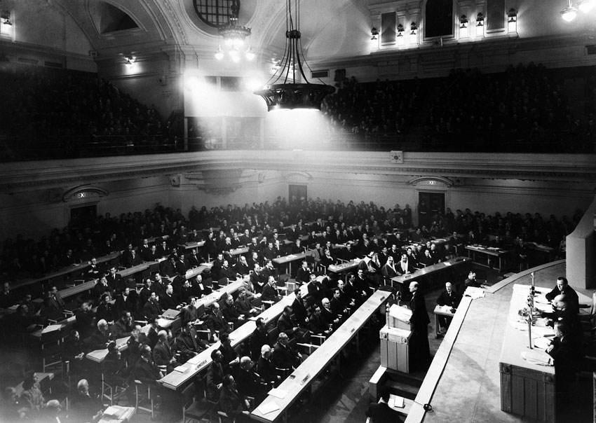 L'assemblea ONU a Londra.