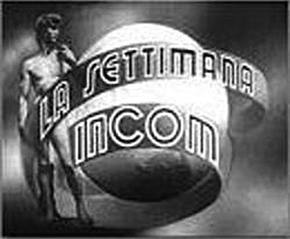 Immagine di apertura della Settimana Incom.
