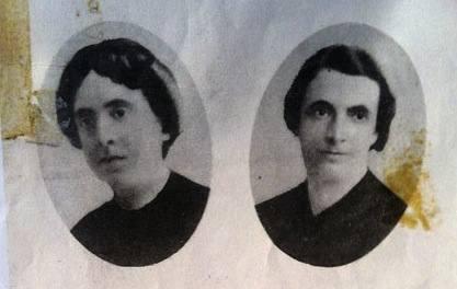 Le sorelle Porro, linciate durante i disordini di Andria.
