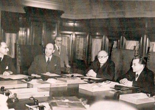 Consiglio dei ministri del I governo De Gasperi.
