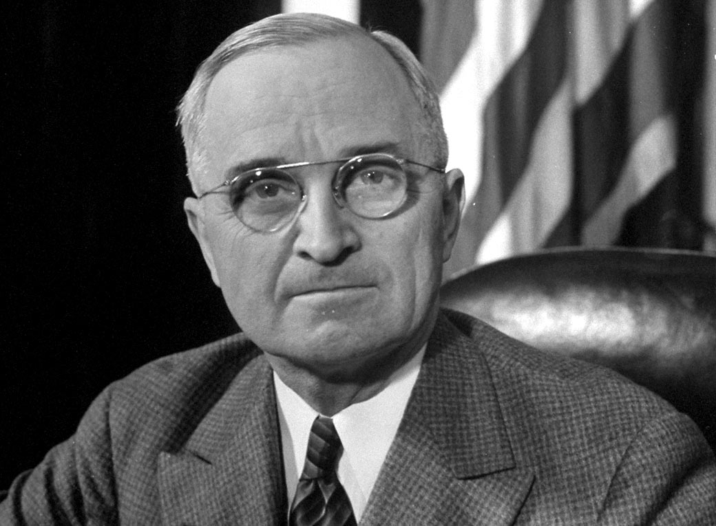 Il Presidente Harry Truman.