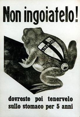 Propaganda elettorale del Fronte popolare.