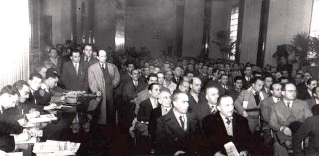Delegati al congresso di fondazione della UIL.