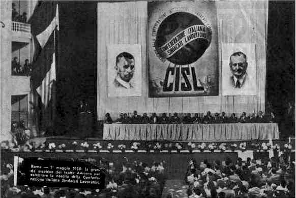 Assemblea di fondazione della CISL