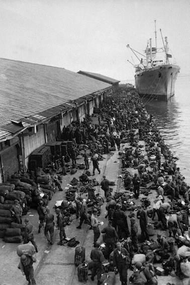 Sbarco delle truppe ONU a Inchon.