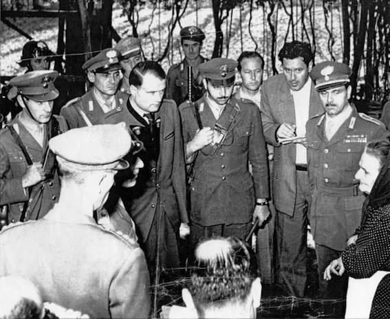 Reder durante il processo venne messo a confronto con i sopravvissuti alla strage di Marzabotto.