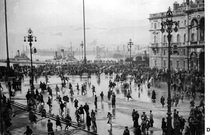 Gli scontri a Trieste del 21/3/52.