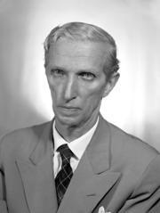 """Umberto Zanotti Bianco, senatore a vita, ambientalista, antifascista, presidente della Croce Rossa Italiana e di """"Italia Nostra""""."""