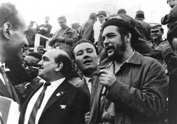 Francesco Moranino con Che Guevara nel 1962.