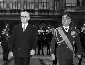 Il Presidente Giovanni Gronchi