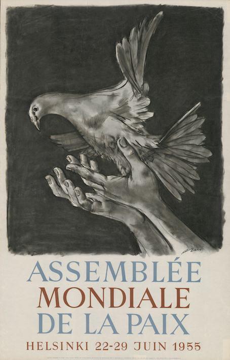 Manifesto dell'Assemblea mondiale della pace di Helsinki del 1955.