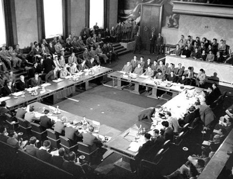 La conferenza di Ginevra sulla guerra in Indocina nel 1954.