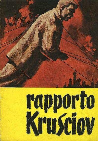 Copertina di una pubblicazione del Rapporto Kruscev edita da Corrispondenza socialista.