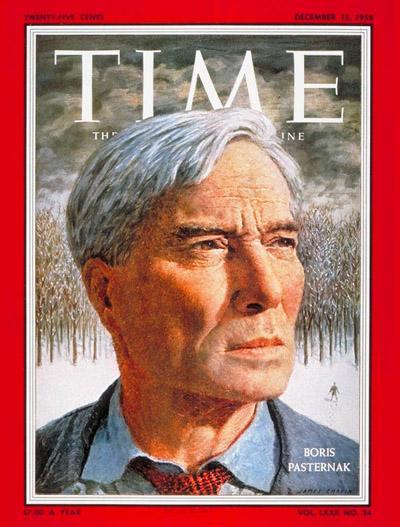 Boris Pasternak sulla copertina di Time.