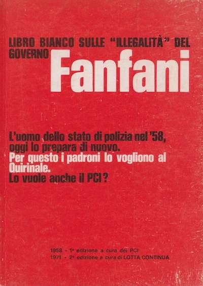 """Il """"libro bianco"""" di Terracini in una edizione del 1971."""