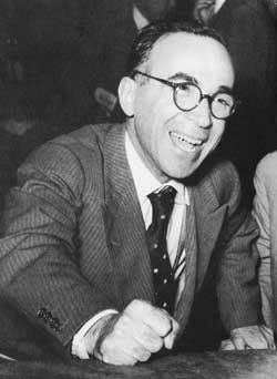 Il sindaco di Firenze Giorgio La Pira.