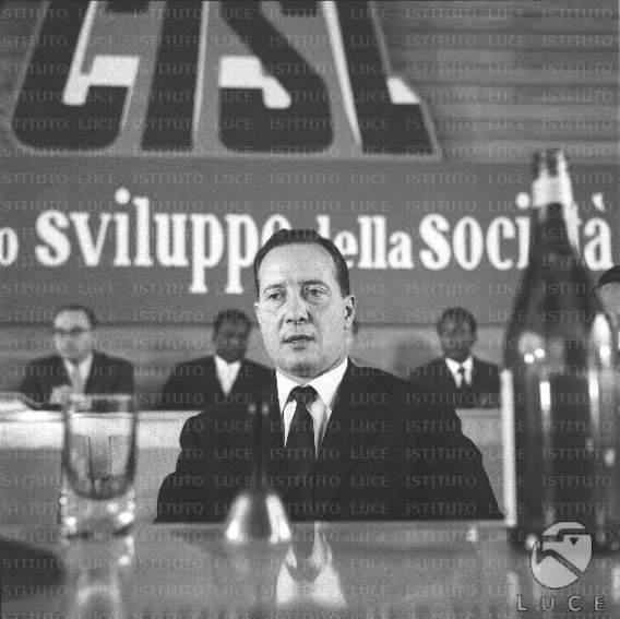 Bruno Storti, nuovo segretario generale della Cisl.