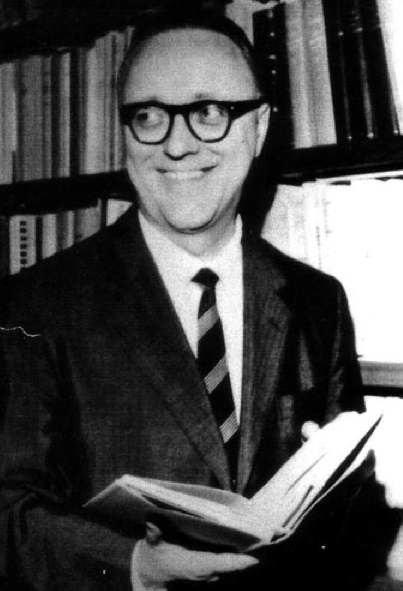 Vittorio Bachelet negli anni '50; nel 1980 sarà ucciso dalle Brigate Rosse.