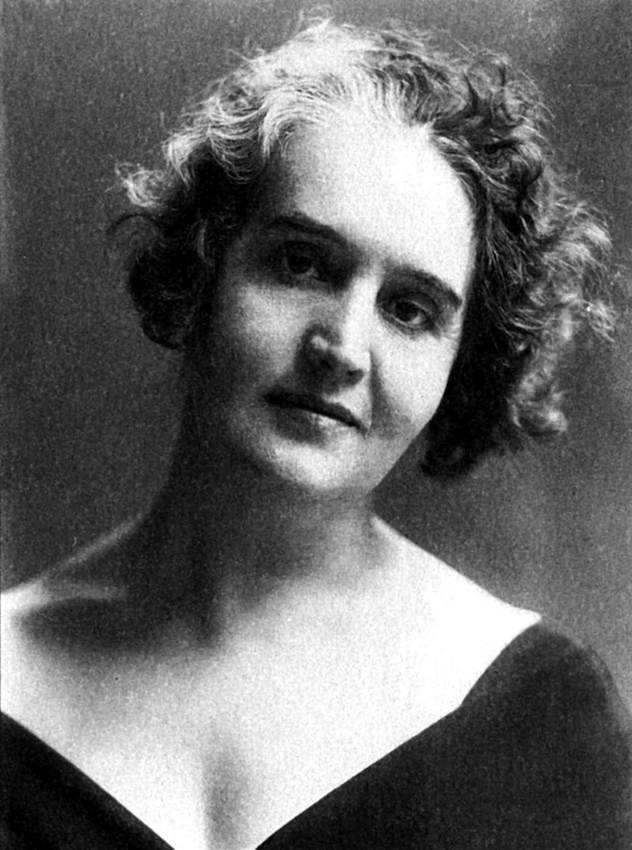 Sibilla Aleramo negli anni venti