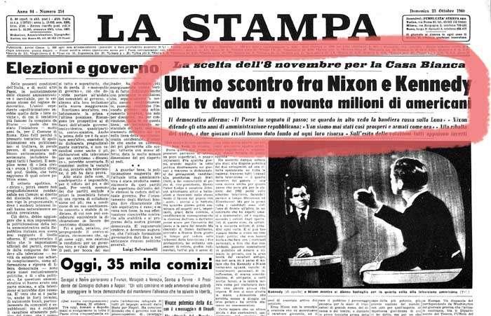 In America, molto prima che in Italia, la TV è fondamentale strumento di consenso elettorale.