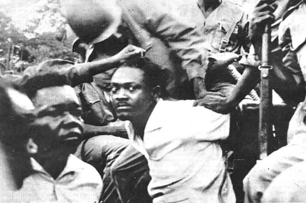 La cattura di Patrice Lumumba.