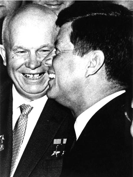 Nikita Krusciov e John F. Kennedy