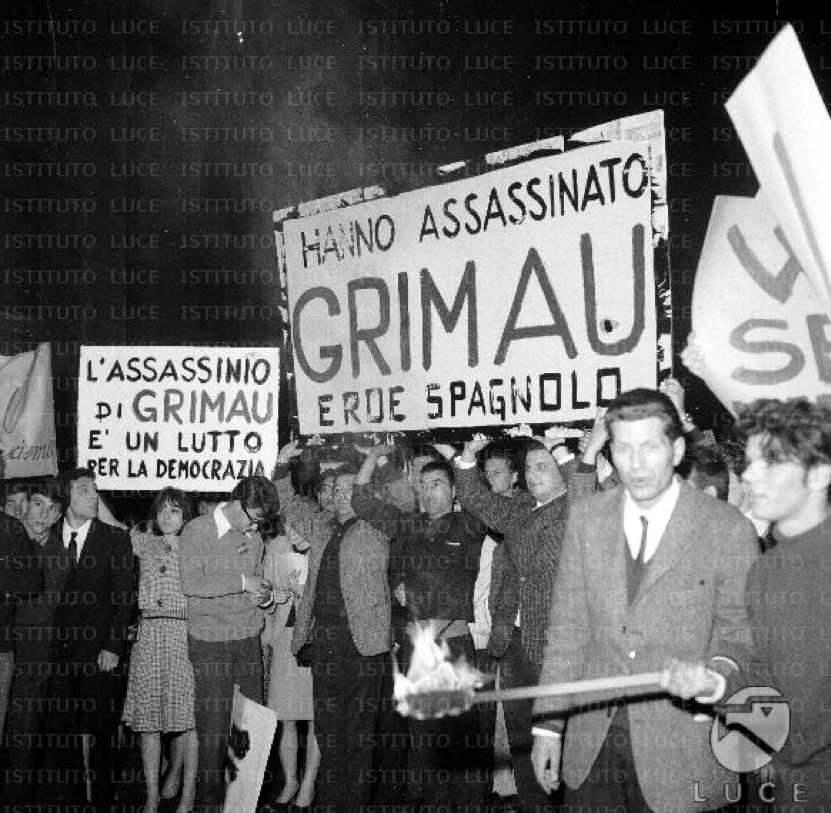 Proteste per l'uccisione di Grimau