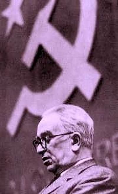 Luigi Longo, nuovo segretario del PCI.