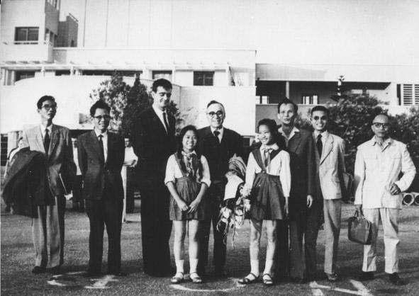 Giorgio La Pira in Vietnam nel novembre 1965.