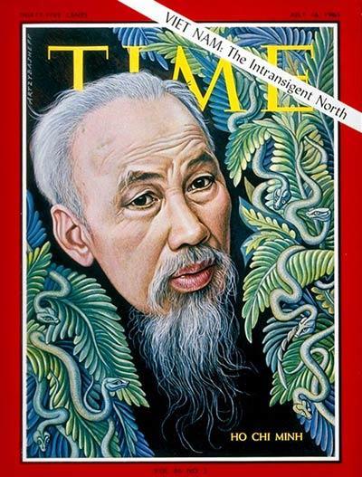 Ho Chi Min sulla copertina di Time.