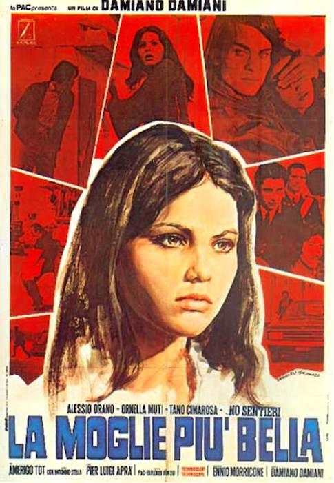 """La locandina del film """"La moglie più bella"""" ispirato alla storia di Franca Viola."""