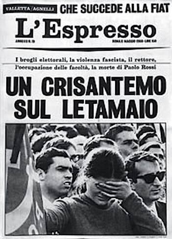 Il servizio de L'Espresso sulla morte di Paolo Rossi.