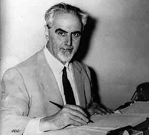 Ernesto Rossi, intellettuale e politico, fu autore con Altiero Spinelli del Manifesto di Ventotene, primo germe dell'Europa unita.