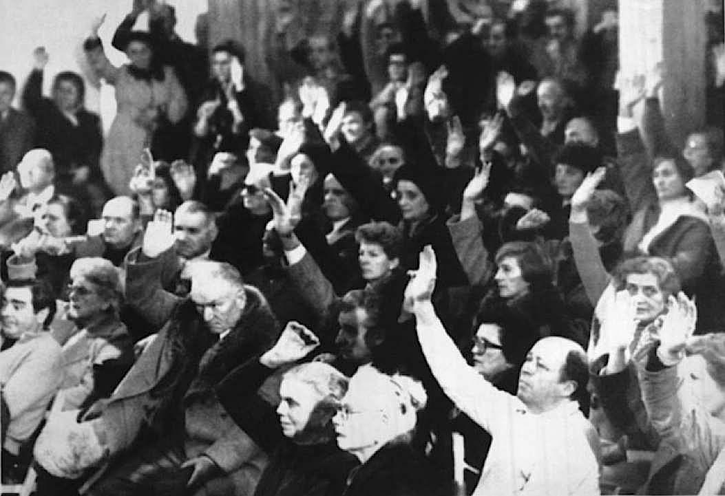 La comunità di Marzabotto vota contro la richiesta di grazia da parte di Reder.