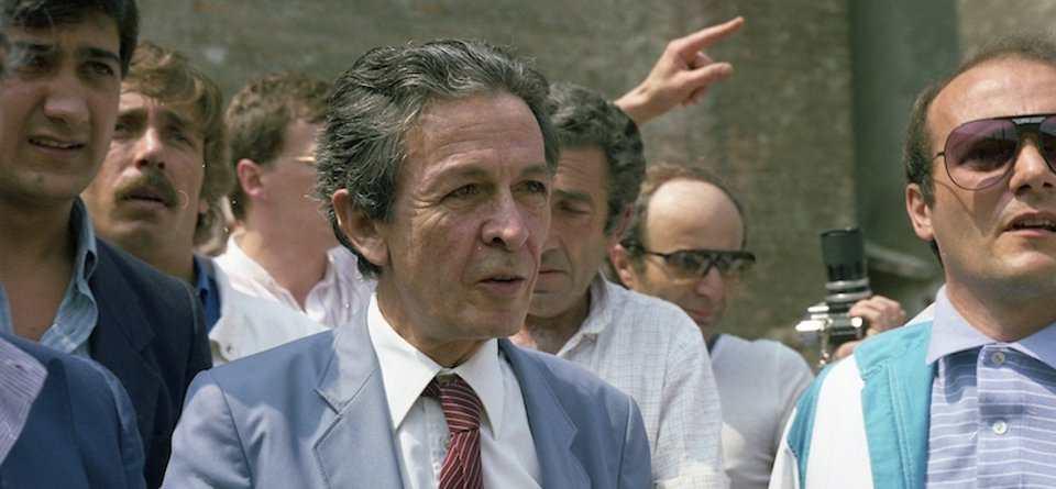 Berlinguer a Mantova per la Festa dell'Unità 1983.