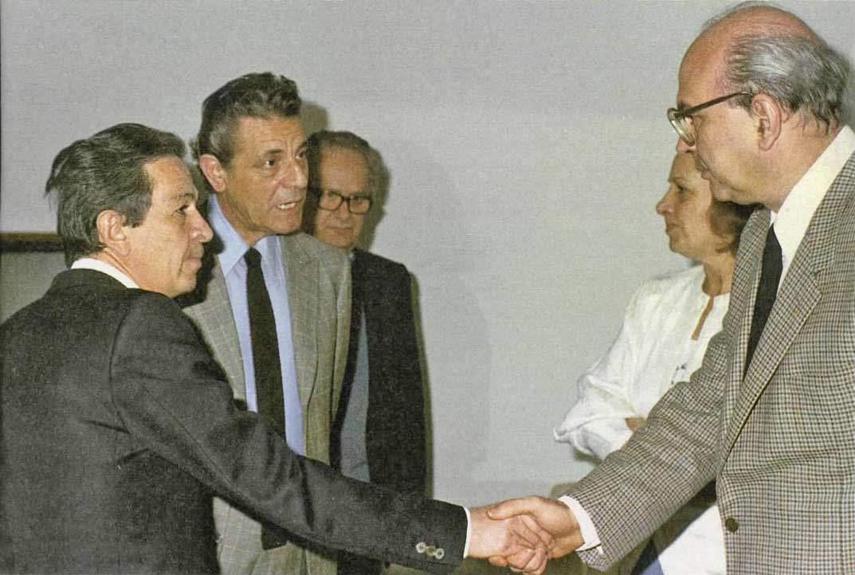 Craxi e Berlinguer il 16 dicembre 1983 si incontrano per discutere dei rapporti tra Est e Ovest.