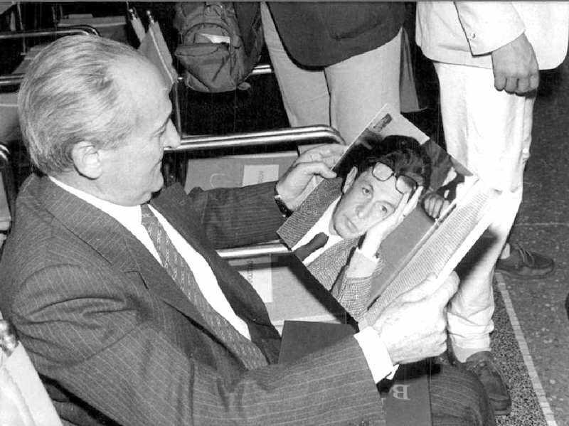 Alessandro Natta, segretario del Pci dal 1984 al 1988.