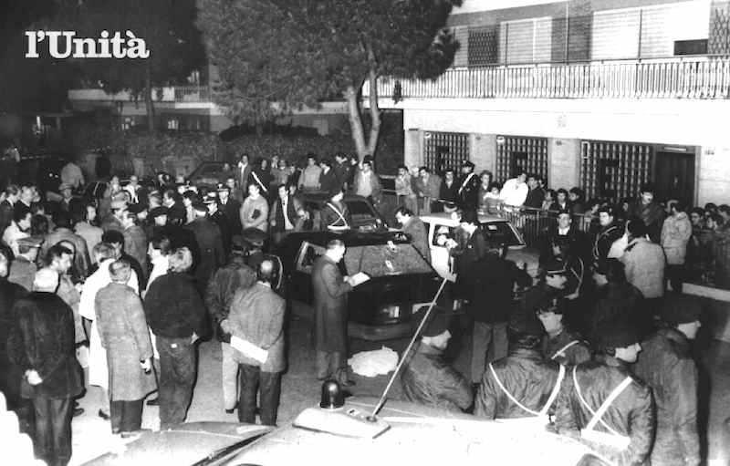 Il luogo dell'agguato mortale al gen. Licio Giorgieri da parte delle Brigate rosse a Roma il 20 marzo 1987.
