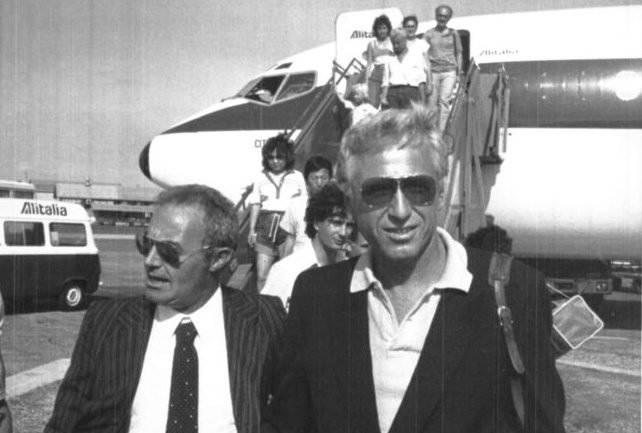 Felice Riva (a destra).