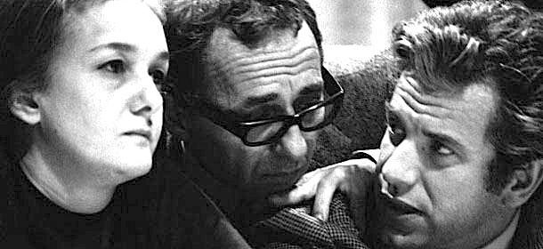 Gli animatori del Manifesto: Pintor (al centro), Magri (a destra) e Rossanda.