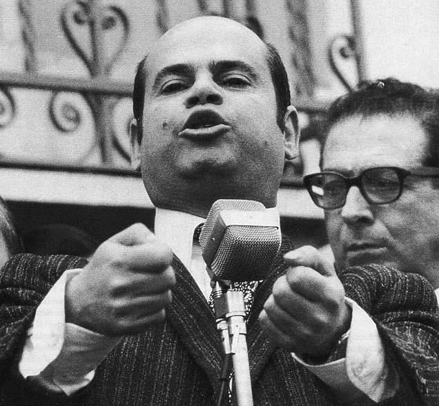 Ciccio Franco, caporione della rivolta di Reggio.