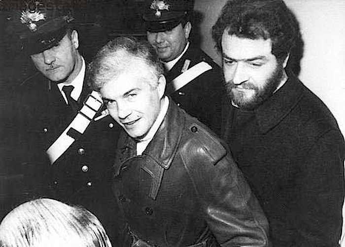 L'arresto di Freda e Ventura, imputati della strage di Piazza Fontana.