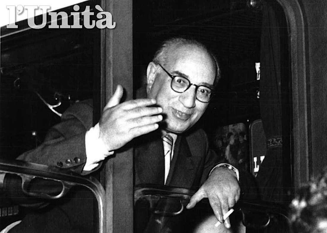 Mauro Scoccimarro, storico dirigente del Pci.