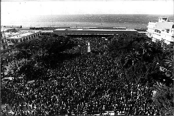 La grandiosa manifestazione sindacale del 22 ottobre 1972 a Reggio Calabria.